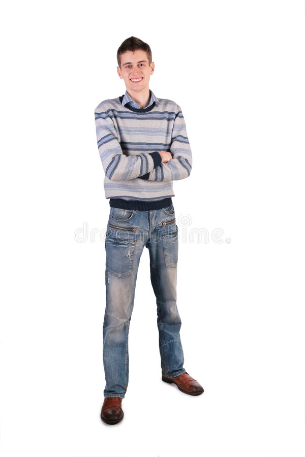 Jeune homme grand images stock