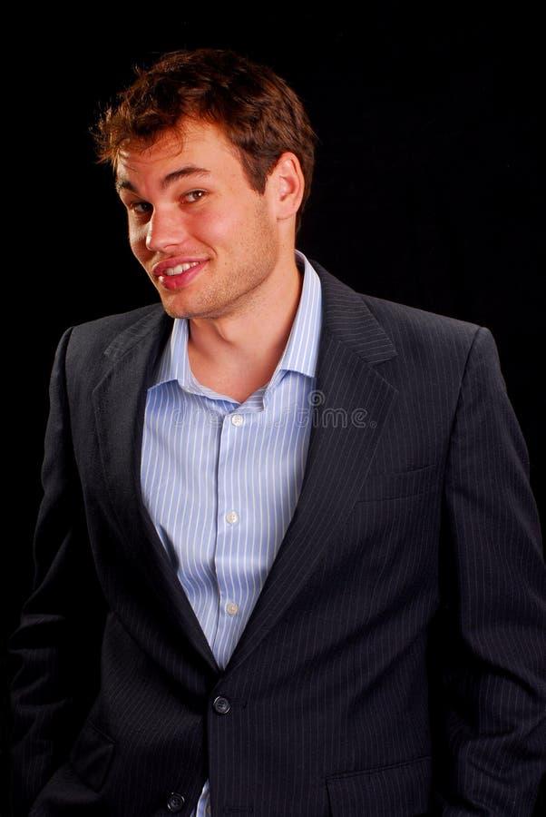 Jeune homme heureux photo stock