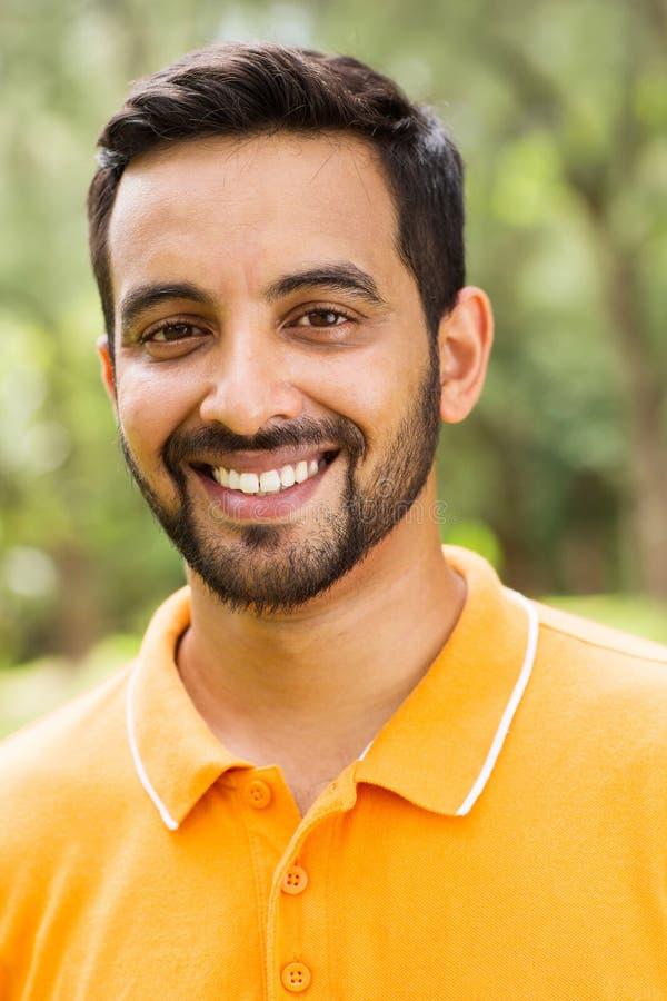 Jeune homme indien photographie stock