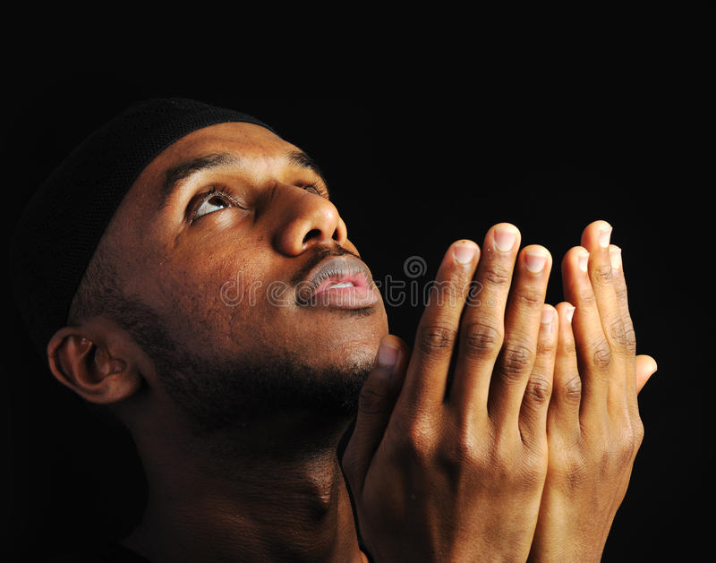 Jeune homme musulman photos libres de droits
