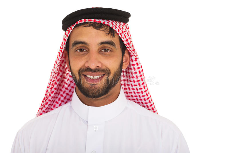 Jeune homme musulman photo stock