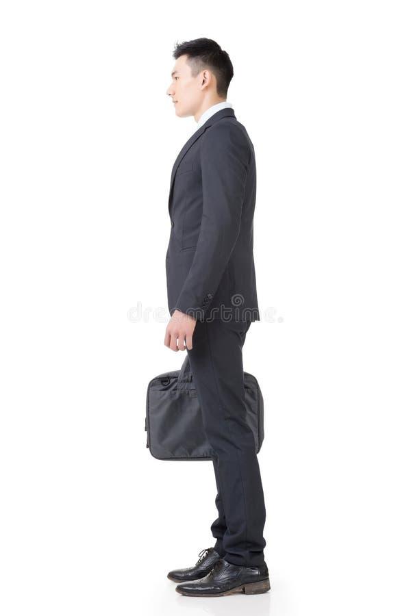 Jeune homme sûr d'affaires images stock