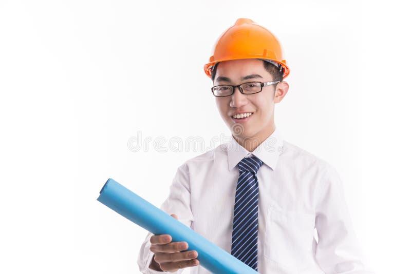 Jeune ingénieur images stock