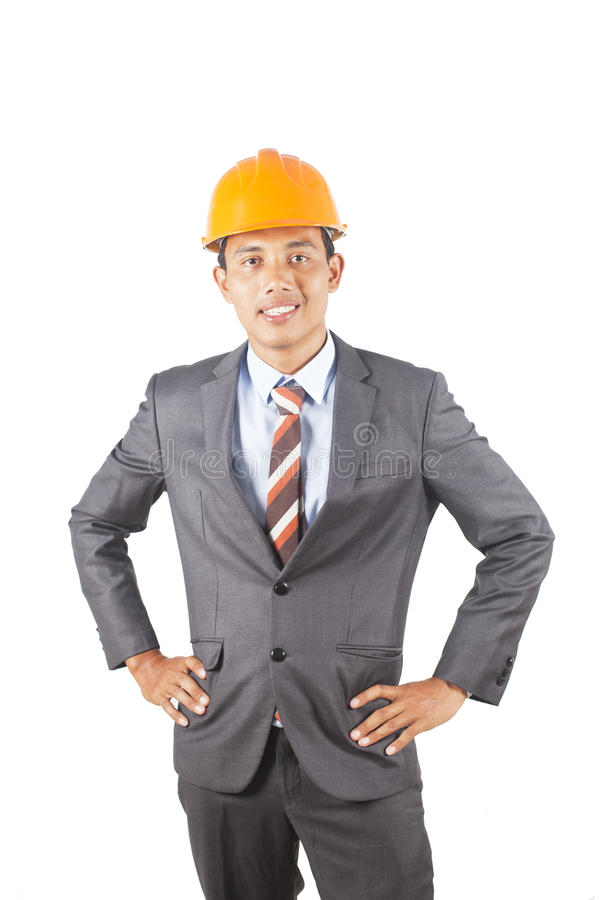 Jeune ingénieur asiatique photos stock