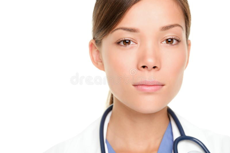 Jeune médecin sérieux images libres de droits