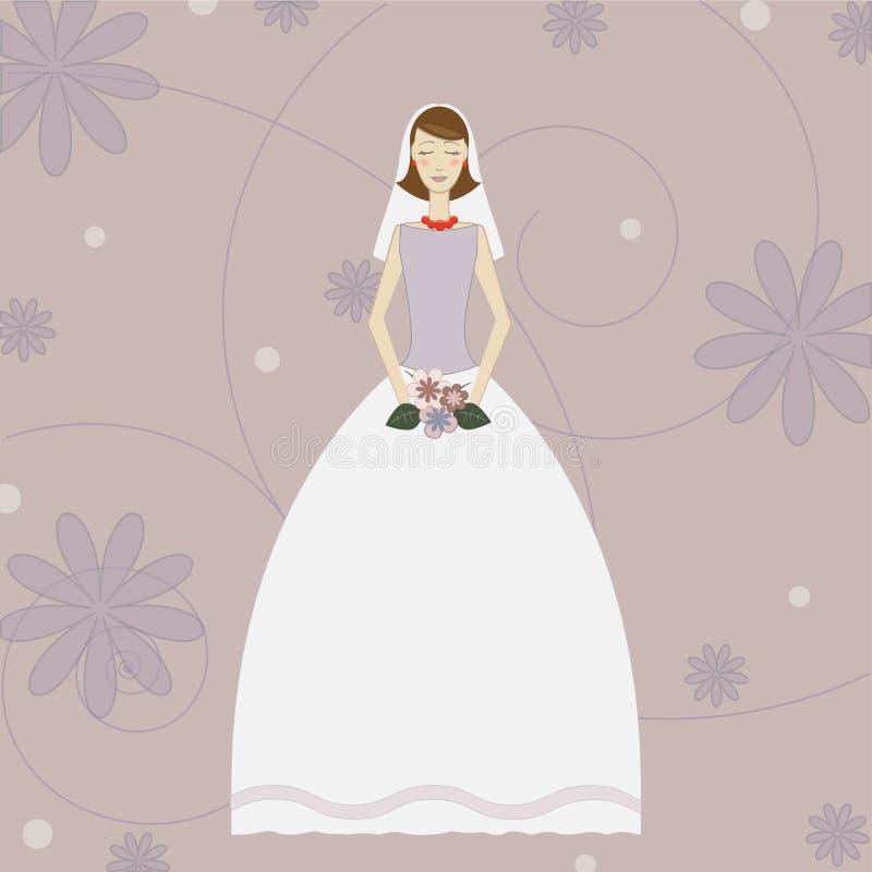 Jeune mariée photos libres de droits