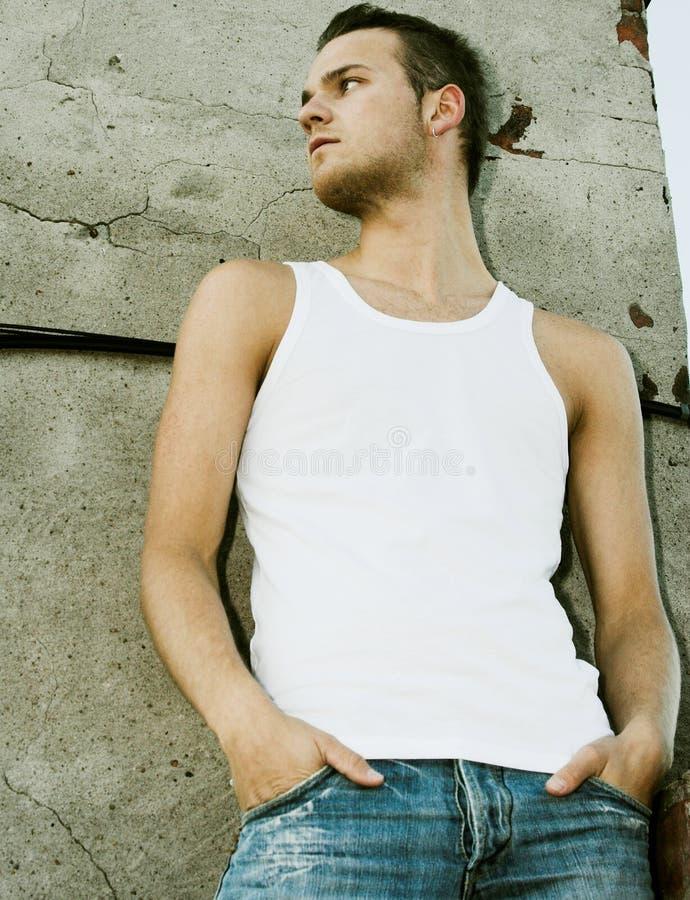 Jeune modèle mâle photographie stock