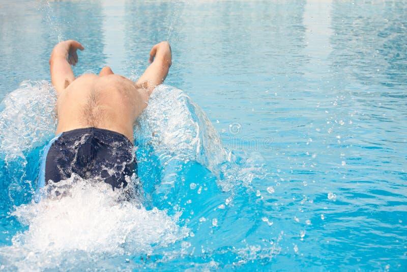 Jeune nageur adulte photos stock