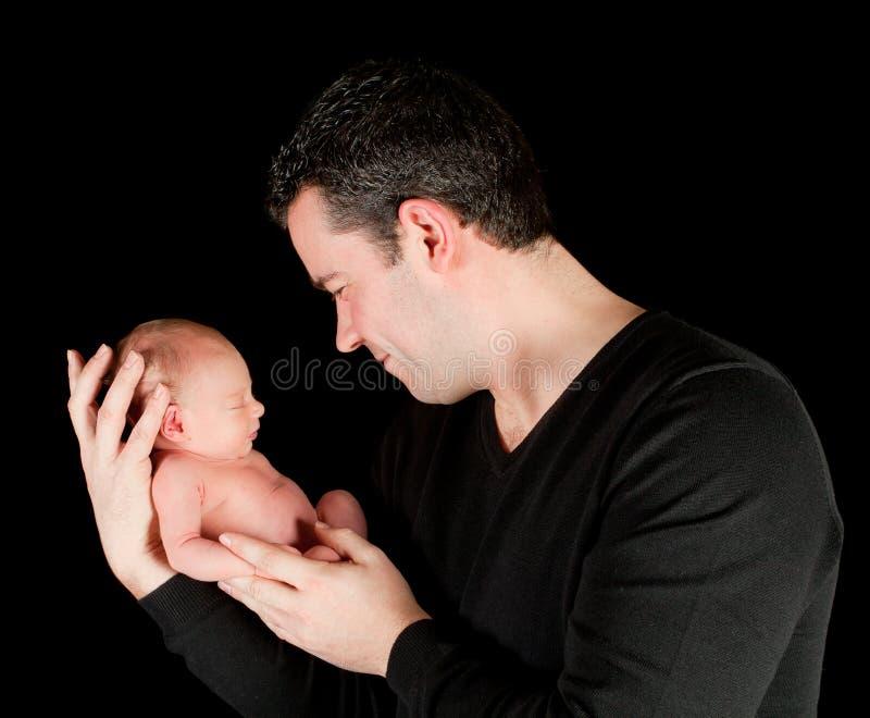 Jeune père image libre de droits