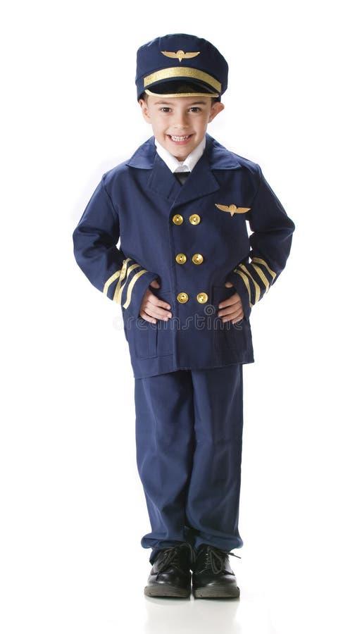 Jeune pilote photo libre de droits