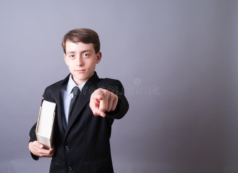 Jeune pointage d'avocat photos libres de droits