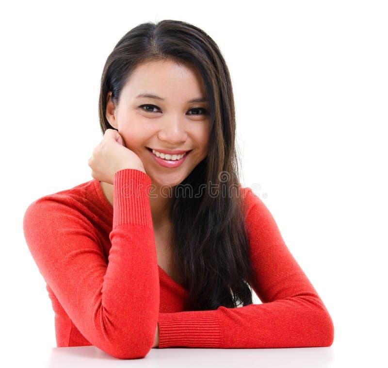 Jeune portrait asiatique de femme photos libres de droits
