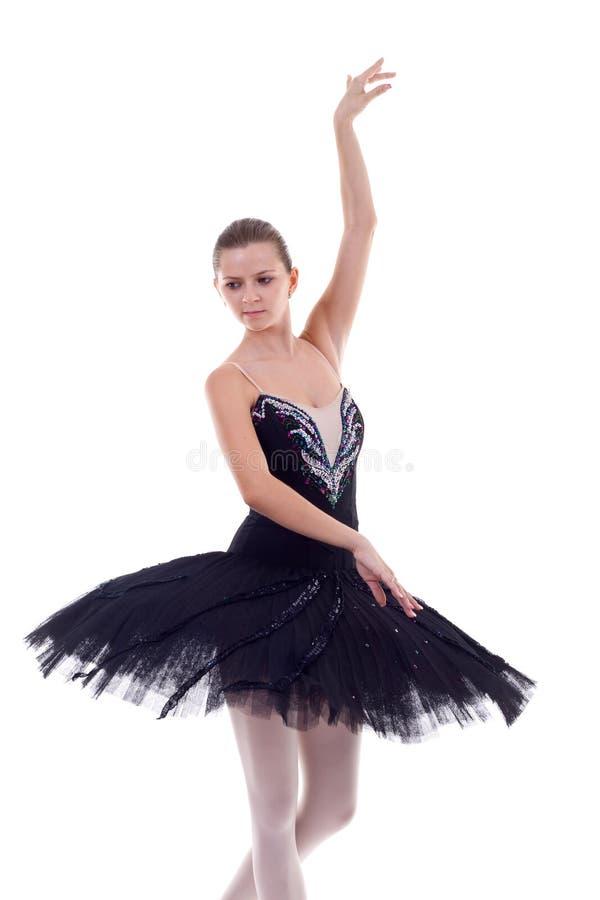 Jeune pose de ballerine images libres de droits