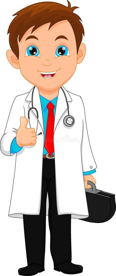 Jeune pouce de docteur  illustration libre de droits