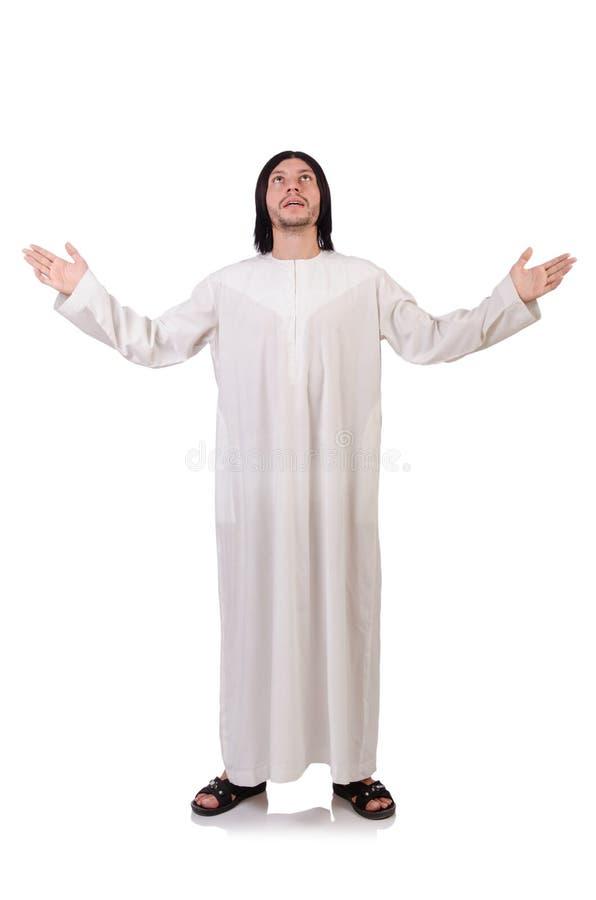 Jeune prêtre avec la bible photos stock