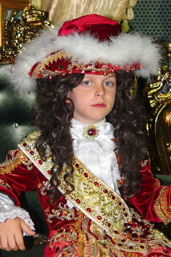 Jeune prince image stock