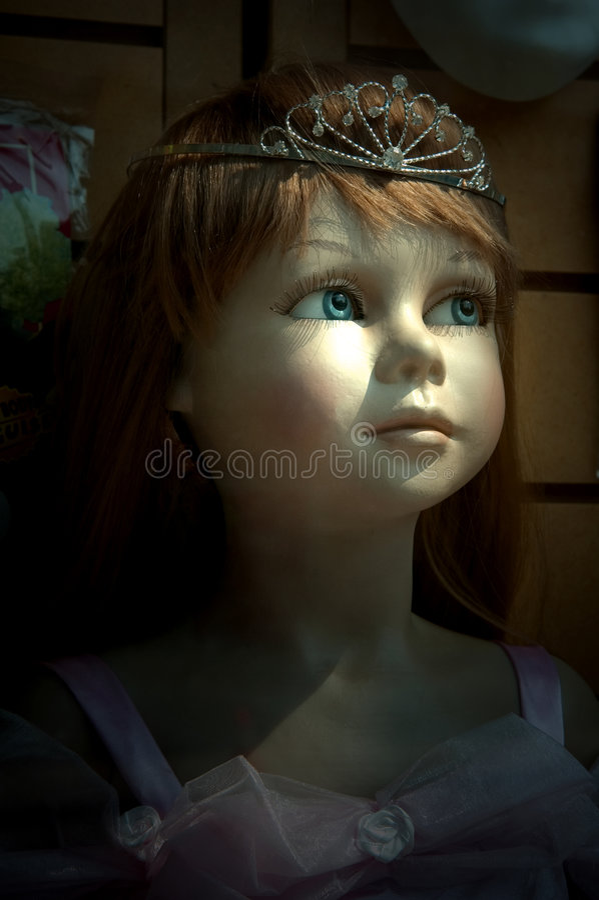 Download Jeune princesse image stock. Image du simple, articulé - 745535