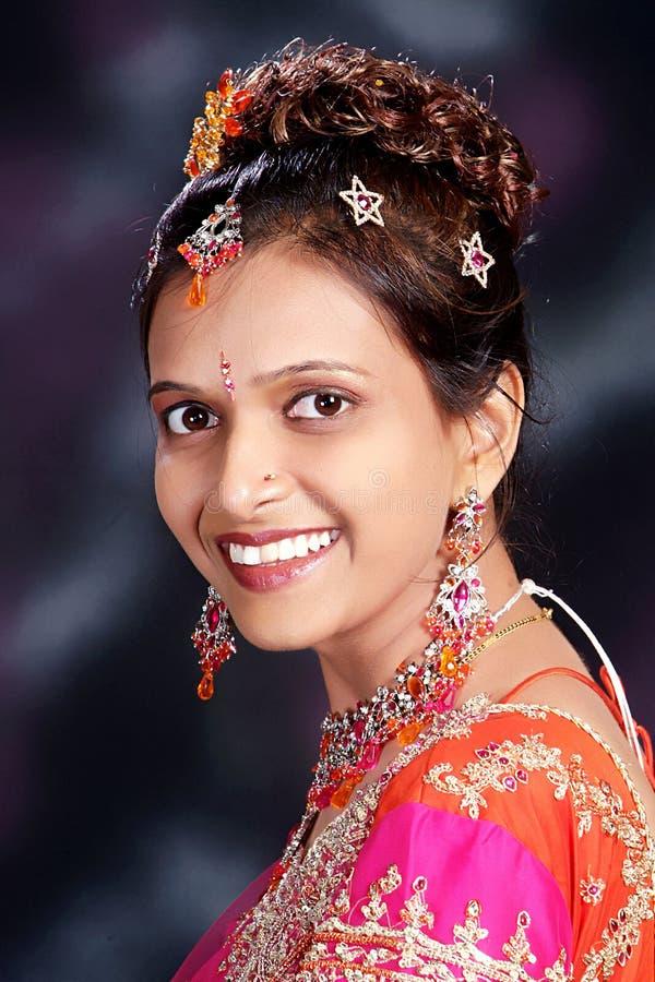 Jeune princesse indienne images libres de droits