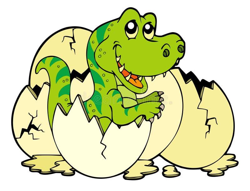 Jeune rex de tyrannosaurus illustration stock