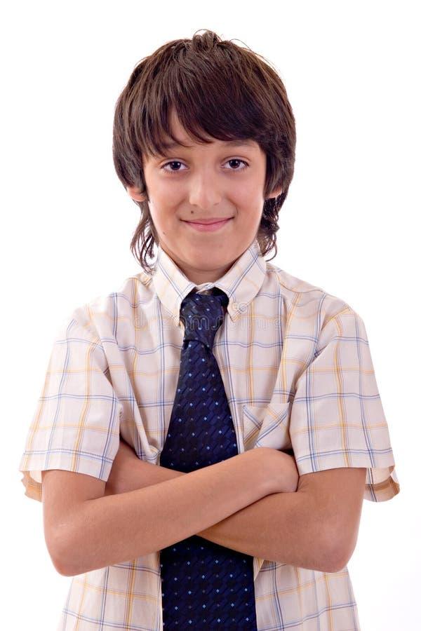 Jeune sourire de garçon photos libres de droits