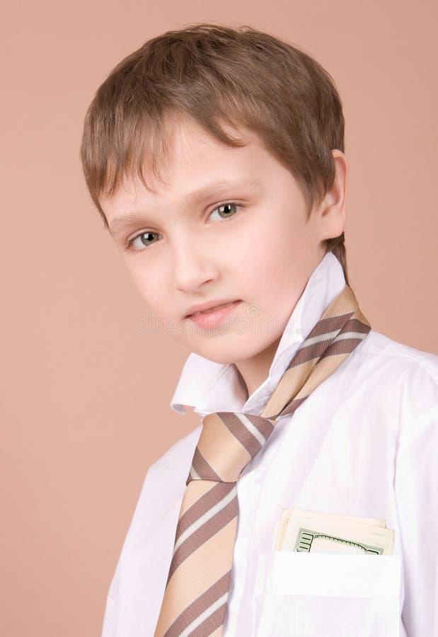 Jeune verticale d'homme d'affaires photos stock