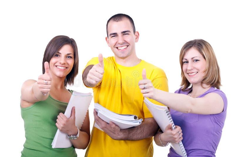 Jeunes étudiants image stock