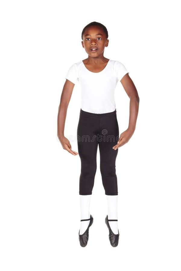 jeunes africains de garçon de ballet photographie stock