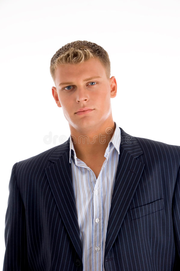jeunes américains de verticale d'homme photos stock