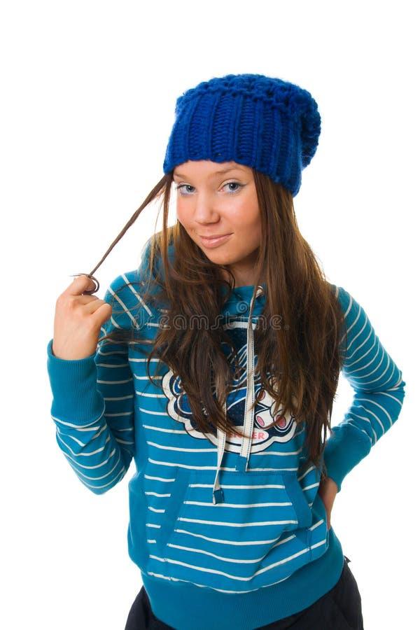 La jeune fille attirante