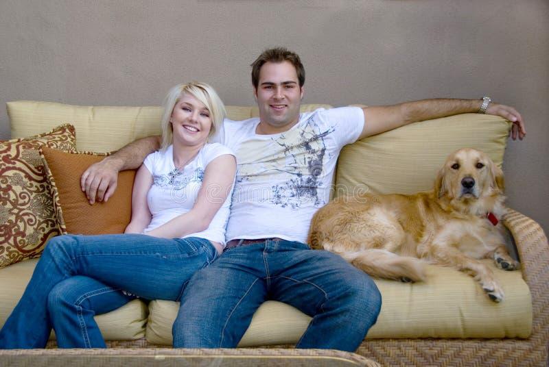 Jeunes couples 3 photographie stock libre de droits