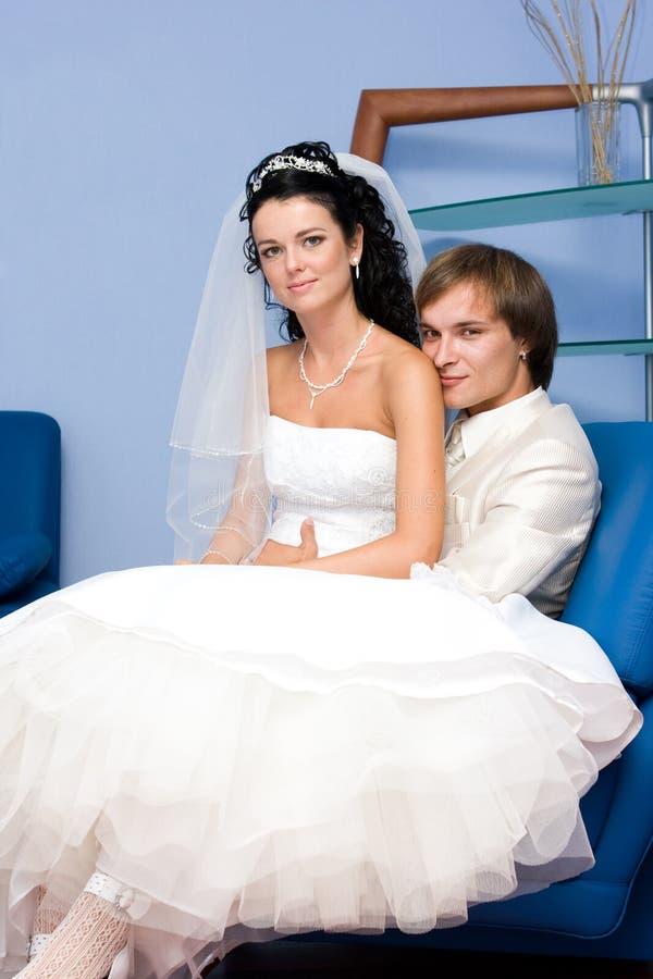 Jeunes couples images stock
