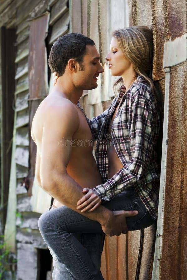 Jeunes couples photographie stock