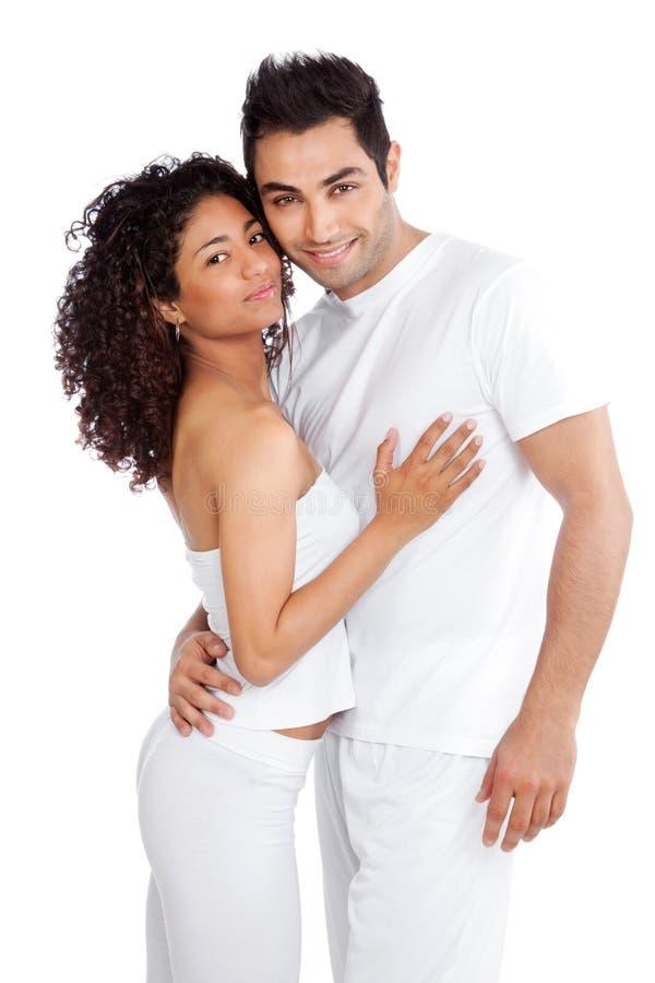 Jeunes couples divers photographie stock