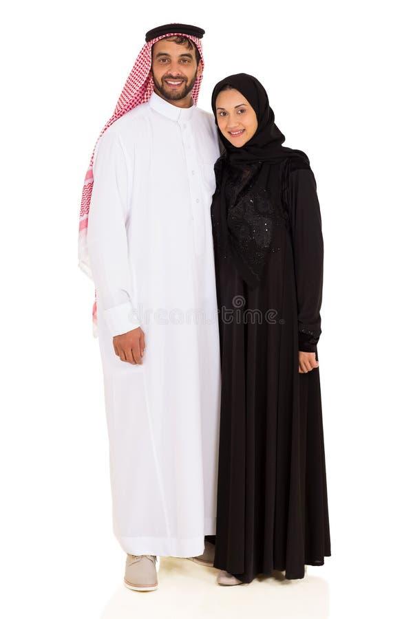 Jeunes couples musulmans images libres de droits