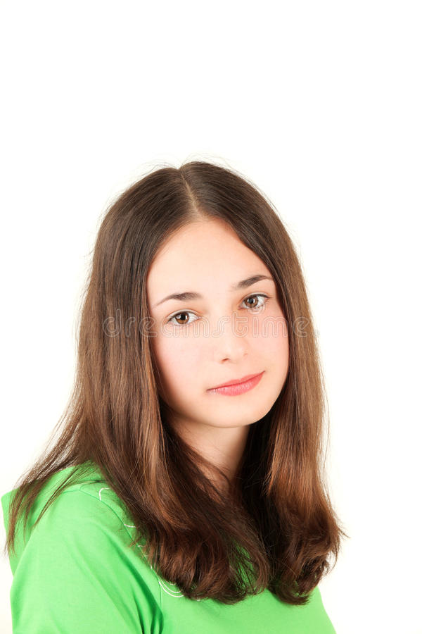 jeunes d'adolescent de fille photographie stock libre de droits