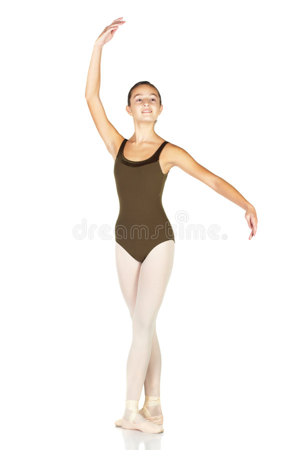 jeunes de danseur de ballet photo stock
