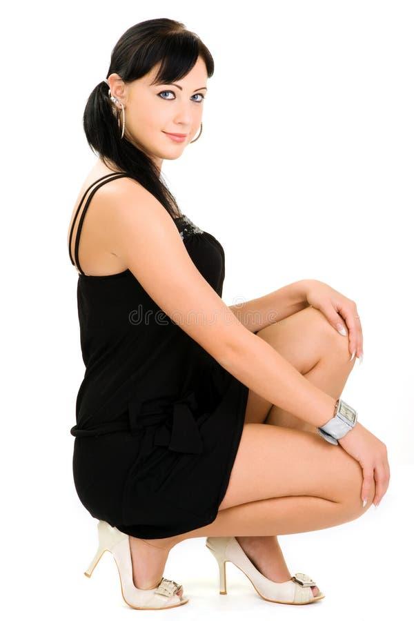 jeunes de femme à la mode images stock