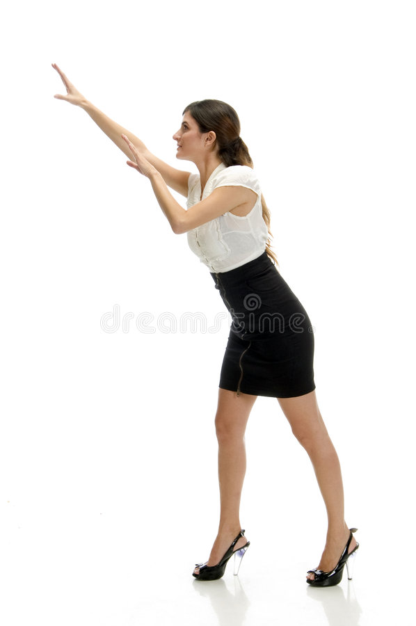 jeunes de femme de danse photographie stock