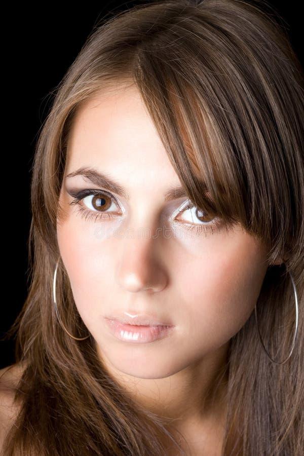 jeunes de femme de verticale photo stock
