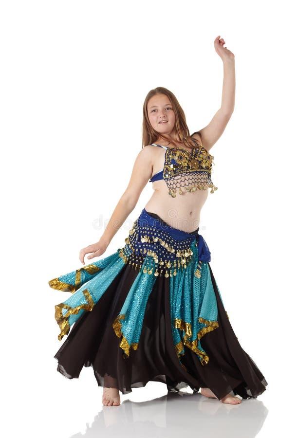 jeunes de fille de danse de ventre images libres de droits
