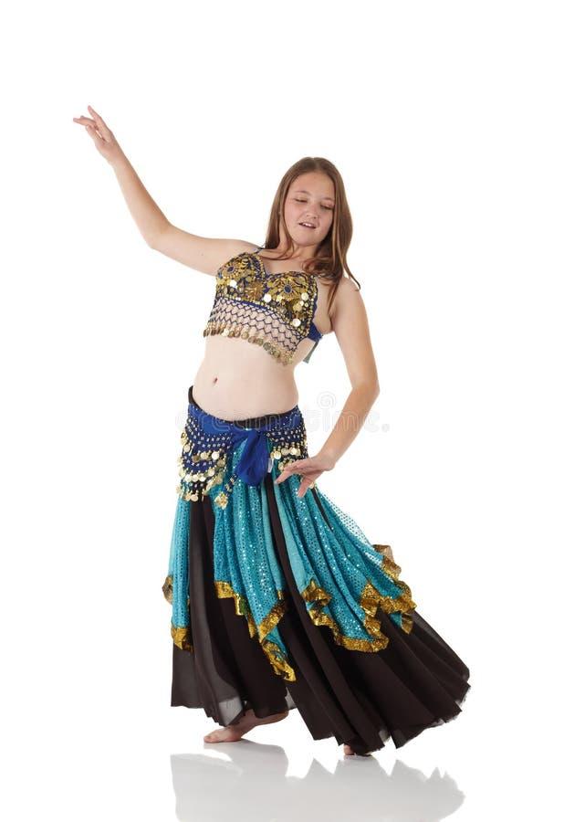jeunes de fille de danse de ventre image libre de droits