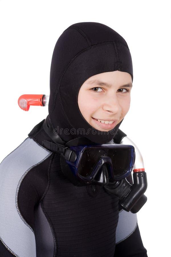 jeunes de plongeur photographie stock