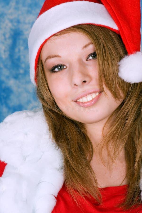 jeunes de sourire de femme de belle verticale images stock