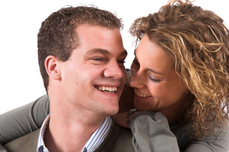 Jeunes et dans l'amour image libre de droits