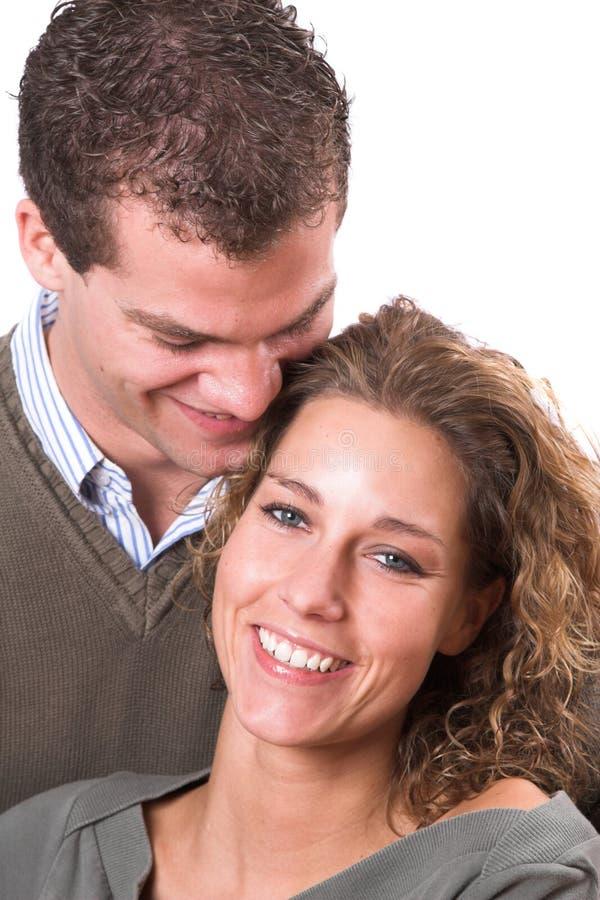Jeunes et dans l'amour photos stock