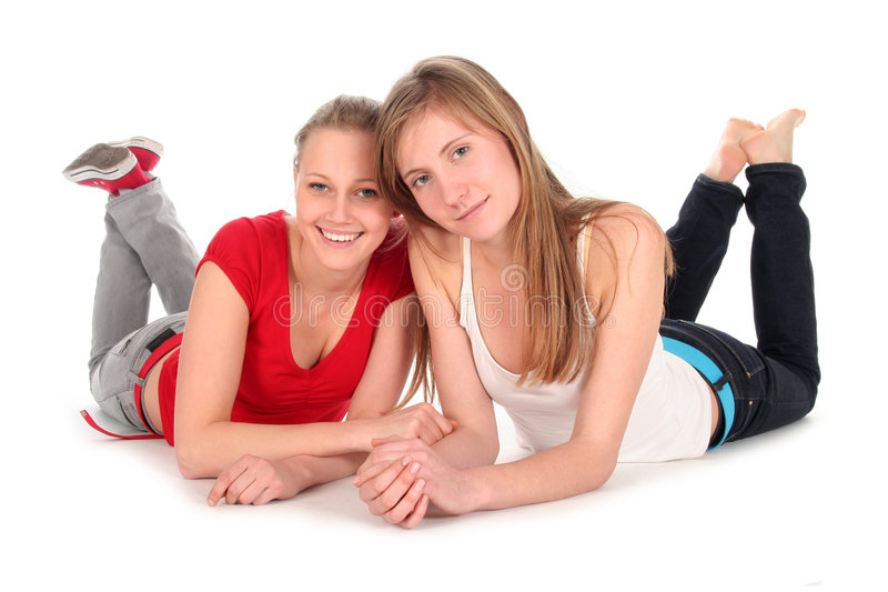 Jeunes femmes photo stock
