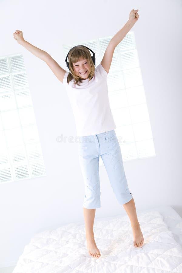 jeunes heureux de fille images libres de droits