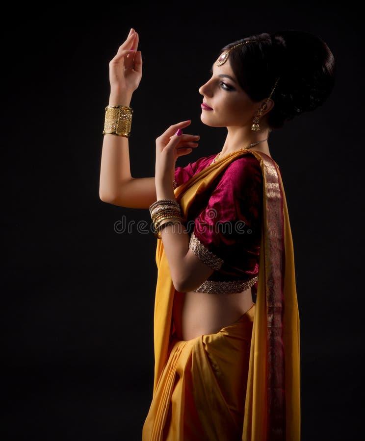 jeunes indiens de femme image libre de droits