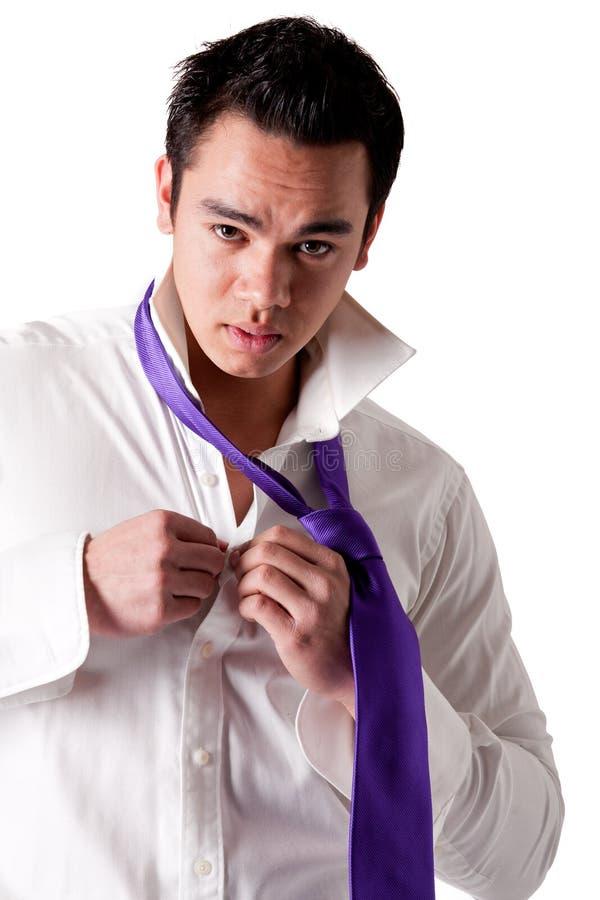 jeunes intenses d'homme indonésien photos stock