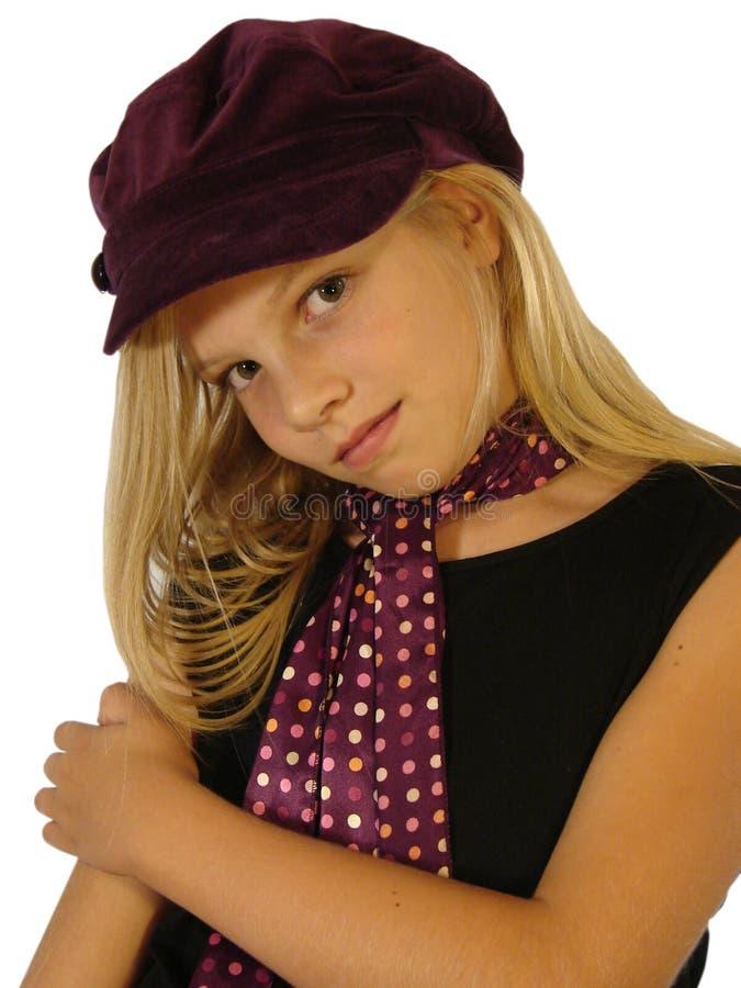 Jeunes poses de modèle pour la pousse. photos stock